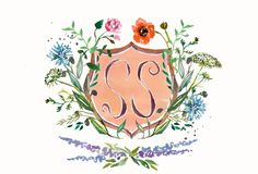 A detail of what the very talented Happy Menocal designed for the invitation to our engagement party!
