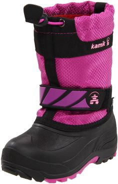 0ad7d52339a5 Kamik Snowday Cold Weather Boot (Toddler/Little Kid/Big Kid),Viola