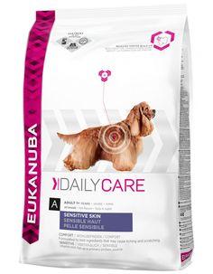 Eukanuba Daily Care Sensitive Skin Dry Dog Food for sale online Dog Food Comparison, Dog Food Recall, Dog Food Reviews, Dog Food Container, Dog Insurance, Dog Food Storage, Dry Dog Food, Protein Sources, Food Allergies