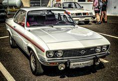 """https://flic.kr/p/Qxaygf   50 Jahre Opel Test Center in Rodgau-Dudenhofen   Opel Manta """"Swinger"""""""