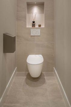 Washroom Design, Bathroom Design Luxury, Bathroom Layout, Modern Bathroom Design, Small Downstairs Toilet, Small Toilet Room, Small Bathroom, Bad Inspiration, Bathroom Inspiration