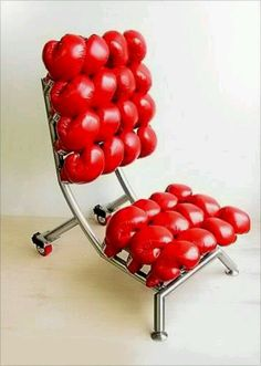 Punch out chair