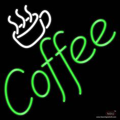 Coffee Real Neon Glass Tube Neon Sign,Affordable and durable,Made in USA,if you want to get it ,please click the visit button or go to my website,you can get everything neon from us. based in CA USA, free shipping and 1 year warranty , 24/7 service