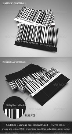Rainbow barcode business cards business card pinterest codebar business professional card creative business cards colourmoves