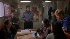 """Barco fantasma"" (""Ghost Ship"", 2002). Dir. Steve Beck. Stars: Julianna Margulies, Gabriel Byrne, Ron Eldard."
