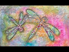 NIKA IN WONDERLAND: MIXED MEDIA DRAGONFLY TUTORIAL