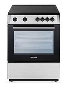 blomberg electric range with ceramic top non convection oven stainless steel blomberg - Non Stainless Steel Appliances