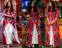 Maria Goretti Wears Swati Vijaivargie To 'The Kapil Sharma Show' Sets-1
