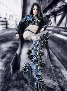 For #Goth girls, it's often about the boots!