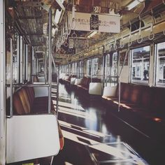 An empty train - Tokyu Denen-Toshi Line iPhone7/Onecam/VSCO  #japan #vsco #Onecam #田園都市線 #denentoshiline #instagramjapan #ig_photography #ig_japan #instadiary #iphonephotography #shotoniPhone #shotoniPhone7 #ink361_mobile #ink361_asia #igersjp #mwjp #team_jp_ #indies_gram #reco_ig #hueart_life #streetphotography #iPhone越しの私の世界 #写真好きな人と繋がりたい #写真撮ってる人と繋がりたい #東京カメラ部 #tokyocameraclub