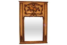 Antique Hand-Carved Trumeau Mirror on OneKingsLane.com