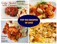 Top 100 Slow Cooker Recipes of 2013