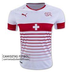 Segunda camiseta de Suiza Euro 2016 €19,9