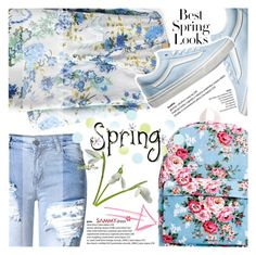 """""""Say Welcome to Spring"""" by vanjazivadinovic ❤ liked on Polyvore featuring Vans, H&M, Spring, sammydress, polyvoreeditorial and Poyvore"""