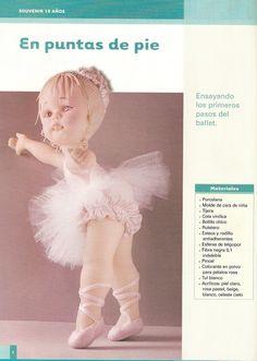 PORCELANA FRIA Trynys design: Paso a Paso Modelado de figuras en porcelana fria