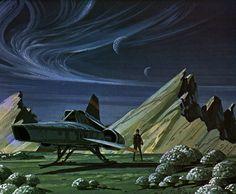 Ralph McQuarrie - Battlestar Galactica Viper
