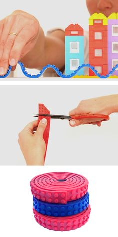 Nimuno Loops is an ingenious way to make your LEGO creations hang upside down and on non-flat surfaces.