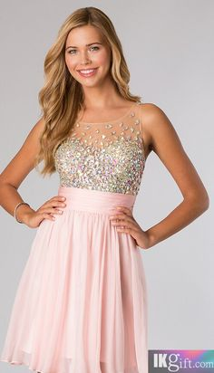 peach and coral-good colors... | Homecoming dresses C: | Pinterest ...