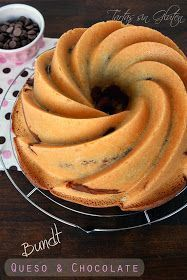 Tartas sin Gluten .....365 dias sin gluten: Bundt de Queso y Chocolate