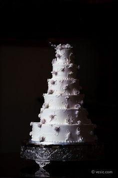 wedding cake at revolution mills in greensboro, nc - vesic.com