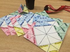 Zones of regulation cootie catcher. Great program to do one to one or in a group. The group members will identify a colour with a list of feels. For example, green- happy, blue- sad, red- angry, yellow, anxious. Then the group members will come up with coping skills to deal with the feelings. Great resource for the teens to use as a developmental task in the adolescent stage is to develop and apply new coping skills in areas such as decision making, problem solving, and conflict resolution.