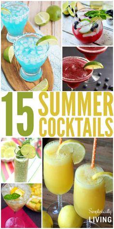 15 summer cocktails