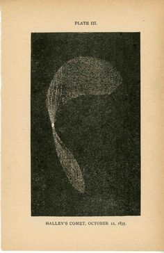 Halley's Comet, 1835