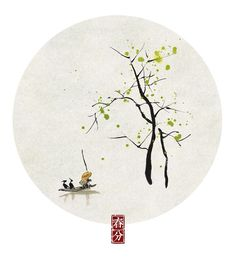 24 solar terms in traditional Chinese calendar - by Xiaolin -- vernal equinox (Mar 21)