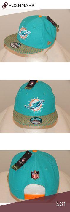 012102985cc New Era Miami Dolphins On Field 950 Snapback Hat New Era MIAMI DOLPHINS NFL  Blue On