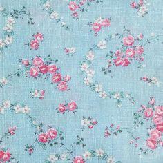 Sweet Rosey Feedsack fabric by peagreengirl on Spoonflower - custom fabric