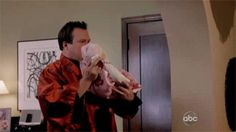 Pin for Later: 43 Times Modern Family Was Spot On About Parenting It's only natural to want to show off your newborn.