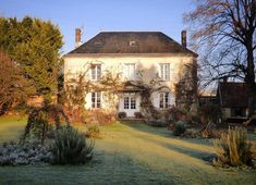 high blue sky and super cold today #winter #myfrenchcountryhome #normandy