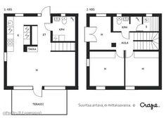 Kanttia2 Floor Plans, Floor Plan Drawing, House Floor Plans