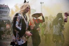 Ξάνθη (Xanthi) in Ξάνθη, Ξάνθη Four Square, Carnival, Kimono Top, Culture, Painting, Women, Fashion, Mardi Gras, Moda