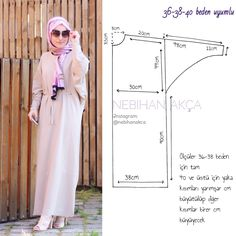 What I'm Sewing: Practical Maxi Dress Up (Sewing, Fashion, Design) - 2019 Hijab Clothing Hijab Dress, Blouse Dress, Dress Up, Sewing Clothes, Diy Clothes, Clothes For Women, Abaya Fashion, Muslim Fashion, Motif Abaya