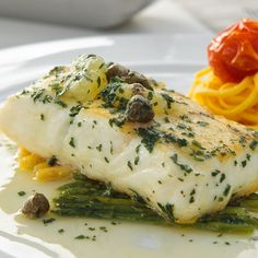 A Flavorful recipe for citrus and herb roasted halibut. This is a family favorite recipe.. Citrus and Herb Roasted Halibut Recipe from Grandmothers Kitchen.