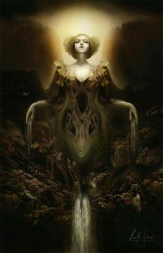 Gaia the goddess of earth