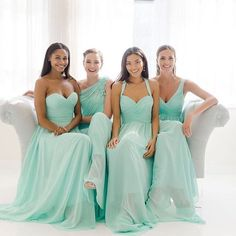 Visit Bella's for amazing bridesmaids dresses at great prices! We have received some beautiful dresses that your friends will LOVE. Call for your appointment 205-403-7977 #alabamaweddings #birminghambrides #southernwedding #bridesmaid #wtoo #bellasbridal