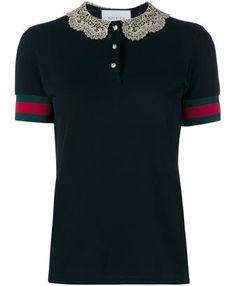 GUCCI - Piqué Cotton Polo Shirt   Supernatural Styl