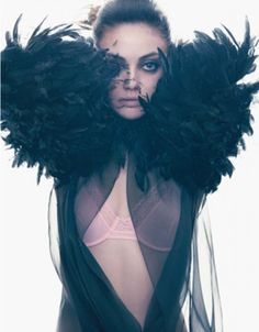 #MilaKunis #feathers #SocialblissStyle