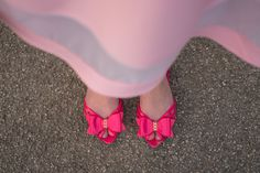 Pink 60s flats by Petite Jolie