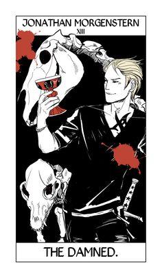 Jonathan Morgenstern (Sebastian) --> The Damned