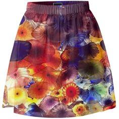 Blown Glass Skirt