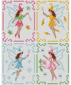 Square tale. Tons of FREE CROSS-SITCH PATTERNS at this site: just found a site that has really easy to download embroidery patterns for free. It's http://club-point-de-croix.com/?code_avantage=CWcplRsmji Plus, if you click on this link, http://club-point-de-croix.com/?code_avantage=CWcplRsmji  , you'll automatically receive a gift when you subscribe. I use this site all the time; there are hundreds of all different types of patterns, and there are new patterns added everyday.