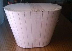 Moldes para las cestas de papel de periodico.