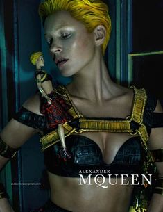 Kate Moss Stars In Alexander McQueen's Spring Summer 2014 Campaign By Steven Klein