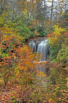 Schoolhouse Falls, Panthertown Valley