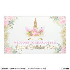 Lona Banderas lindas de la fiesta de cumpleaños del