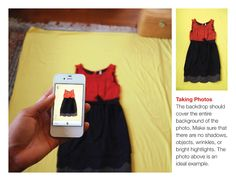 How to take good pictures of your clothes for Stylebook iPhone Closet App