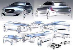 Volvo design sketches 또다른 볼보 디자인 관련 디자인 스케치이다 좀더  다양한 시각으로 바라볼 수 있을 것이다.